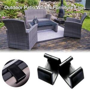 Rattan Furniture Clips Sofa Rattan Connector Sectional Chair Fastners Clip Q8Q7