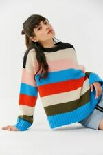 Urban Outfitters Multi Color block Striped Jumper size M