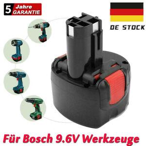 9.6 Volt 3.0AH Ni-MH BAT048 Akku für Bosch PSR 960 BPT1041 BAT100 GSR PSR VE-2