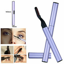 Portable Electric Eyelash Curler Pen Heated Long Lasting Eye lashes Makeup Tools