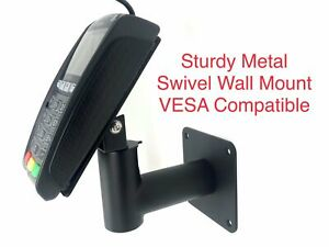 Swivel Wall Mount for Ingenico IPP320 & IPP350 - Vesa Compatible - Strong Metal
