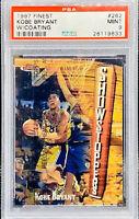 1997-98 Kobe Bryant Finest W/Coating #262 PSA 9 MINT