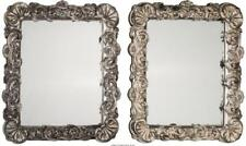 A Pair Of Baroque-Style Silvered-Framed Easelback Mirrors, 21St Cen. Lot 66245