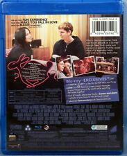 Nick and Norah's Infinite Playlist Blu-ray + DVD 2008 Kat Dennings Micheal Cera