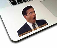 The Office Michael Scott Noooo! funny Vinyl Sticker for laptop, journal, or car.