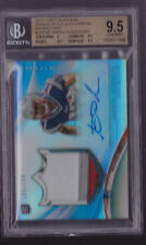 2013 Topps Platinum Aaron Dobson 3 color jersey patch Auto Rc # to 250 BGS 9.5