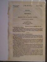 Gov Report 1837 Inhabitants of Halifax County VA Liberties of Country Destroyed
