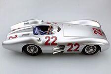 GP REPLICAS MERCEDES BENZ W196 R GP FRANCE 1954 Hermann #22 1:12*LARGE CAR*New