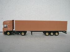 Gabotex ho/1:87 camion scania semi-remorque Foncé Beige uni (rg/cb/066-1r5/1)