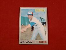 1970 Topps #476 DON SHAW          EX-MT+
