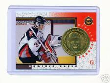 1997-98 PINNACLE MINT DOMINIK HASEK BRASS COIN & CARD