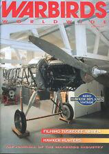 WARBIRDS WORLDWIDE NO.35 HAWKER HUNTERS / LOCKHEED HUDSON / SPITFIRE HF.VIIIc