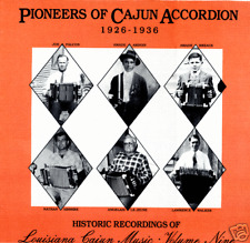 Pioneers of Cajun Accordian 1929-1935 SEALED Arhoolie OT128 LP various artists