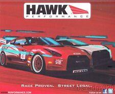 2013 Hawk Performance Nissan GT-R World Challenge postcard