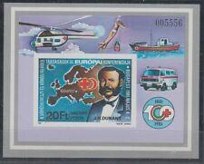 V388 HONGRIE/Croix Rouge MiNr Bloc 149 B **