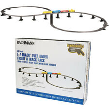 Bachmann 44475 EZ Track Over-Under Figure 8 Track Pack HO Scale