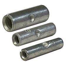 150 Pcs Non Insulated Crimp Butt Connector Uninsulated Wire Splice Terminal Kit