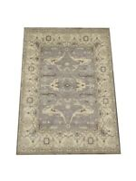 9X12 Gray Oushak Hand-Knotted Wool Oriental Area Rug Carpet (9 x 11.10)