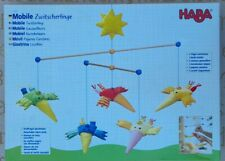 HABA Mobile Wooden Baby Accessory Coloured Sleeping Aid Wood