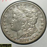 1879-S U.S. Morgan Silver Dollar $1 XF Details 90% Sil. Reverse 1878 Scarce Coin
