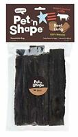 Pet 'n Shape Beef Lung Dog Treats  Made and Sourced in The USA 3 ounce
