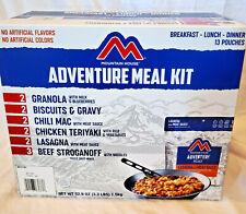 Mountain House Adventure Meal Kit 26 Servings Emergency Survival Food Exp 2050