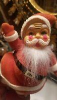 Vintage Santa Figurine 1960 Christmas Decor