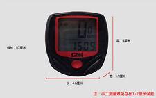 2016 Cycling Bike Bicycle Cycle Computer Odometer Speedometer Waterproof