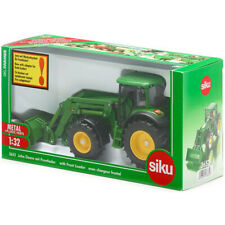 Siku John Deere Tractor with Front Loader Toy - Scale 1:32 - 3652