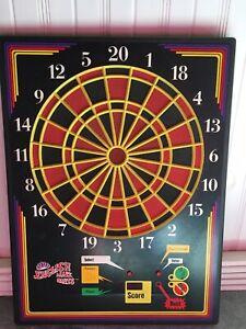 "Vintage English Mark Darts 27"" Dart Board by Arachnid Model 210H Number Q6019."