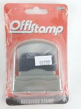Cosco Office Stamp Self Inking Received Stamp Quick Drying