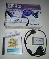 Adaptec SlimSCSI 1460 PCMCIA SCSI Adapter PC Card + Cable Kit in Box