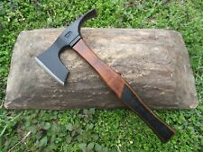 DOUBLE BLADE AXE & ADZE SURVIVAL CAMPING HIKING OUTDOOR BUSHCRAFT FOREST TOOL №2