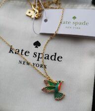 Kate Spade  Scenic Route Hummingbird Mini Pendant Necklace