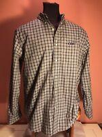 Chaps By Ralph Lauren Men's Extra Large Long Sleeve Button Front Plaid Shirt