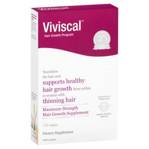 Viviscal Women's Hair Growth Supplement 60 Tablets Woman Womens Hair Loss