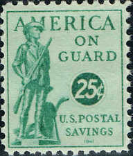 #PS12 1941 25c POSTAL SAVINGS STAMP ISSUE MINT-OG/NH