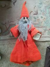 Handmade Knitted Large Autumn Wizard  approx 70cm tall