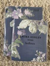 New Laura Ashley Violetta Iris Single Duvet Cover And Pillowcase