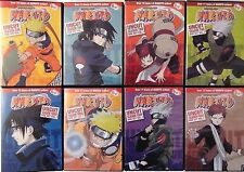 Naruto Uncut Original Anime Series (48 DVDs) Complete Seasons 1-4