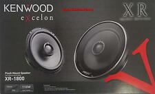 """KENWOOD eXcelon XR-1800 7"""" 2-Way CarCoaxial Speakers NEW 330 Watt 6.5"""" Oversized"""