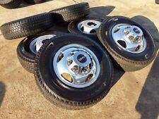 "17"" GMC Sierra Chevy 3500 Dually 2017 rims wheels tires OEM 2014 2015 2016 2018"