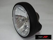 MATT BLACK crystal clear Headlight Suzuki SV650 SV1000 SV 650 1000  head light