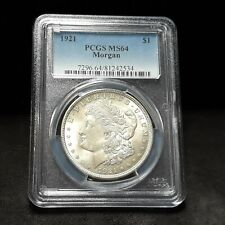 1921 Morgan Silver Dollar - PCGS MS64 - Vam 41B Pitted Reverse!   2534