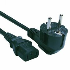 1.5M European Euro Mains Power Cable Kettle Lead Power Cord PC TFT TV -BRAND NEW