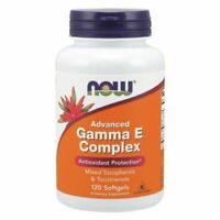 Advanced Gamma E Complex 120 Sgels  by Now Foods