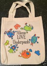 Aliens Love Underpants - Aliens Love Underpants Bag, Tote Bag - NEW
