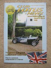 Club Lotus news magazine - July 2010 340R