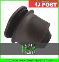 Fits TOYOTA CALDINA AZT246/ST246 4WD - Rubber Suspension Bush For Rear Arm