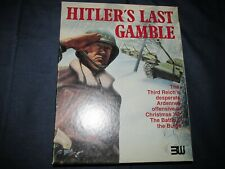 Hitler's Last Gamble: The Battle of the Bulge 3W SPI AH GMT GDW punched